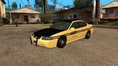 Chevrolet Impala Polícia 2003 prata para GTA San Andreas