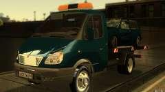 Caminhão de reboque 14 3302-gazela