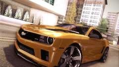 Chevrolet Camaro 2SS 2012 Bumblebee v.2.0 para GTA San Andreas