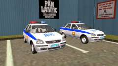 LADA 2170 polícia