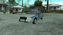 Ford Crown Victoria NYPD para GTA San Andreas