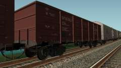 Empresa de carga do vagão aberto para GTA San Andreas