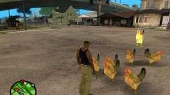 Galinhas no GTA San Andreas