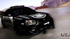 Subaru Impreza WRX STI Police Speed Enforcement