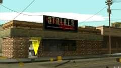 Loja de arma S. T. A. L. k. e. R para GTA San Andreas