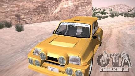 Renault 5 Turbo para GTA San Andreas