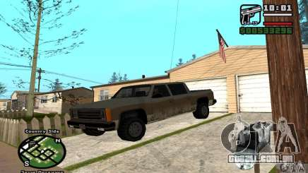 Rancher 4 Doors Pick-Up para GTA San Andreas