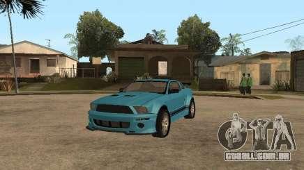 Ford Mustang GT 500 para GTA San Andreas