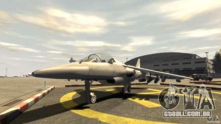Liberty City força aérea Jet (com engrenagem) para GTA 4