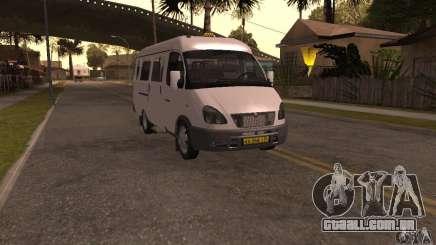 Gazela 32213 Novosibirsk Minibus para GTA San Andreas