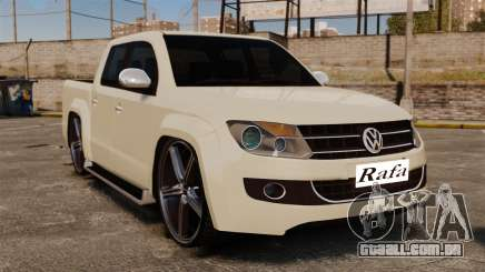 Volkswagen Amarok Light Tuning para GTA 4