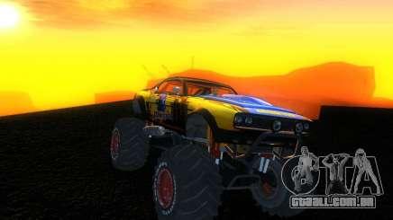 Fire Ball Paint Job 2 para GTA San Andreas