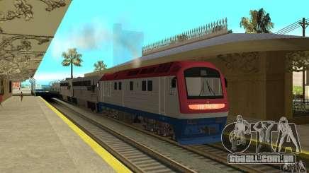 Diesel locomotiva TÈP150-001 para GTA San Andreas