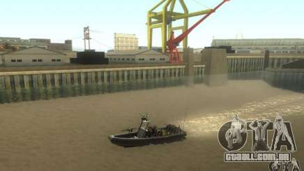 RHIB Boat para GTA San Andreas