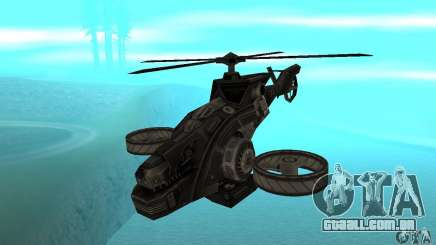Um helicóptero do jogo TimeShift Black para GTA San Andreas