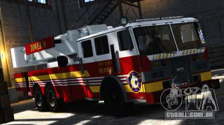 SS10 Tower Ladder v1.0 para GTA 4