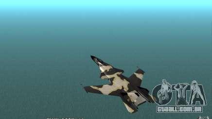Águia dourada de Su-32 para GTA San Andreas