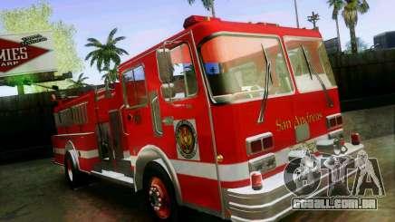 Pumper Firetruck Los Angeles Fire Dept para GTA San Andreas