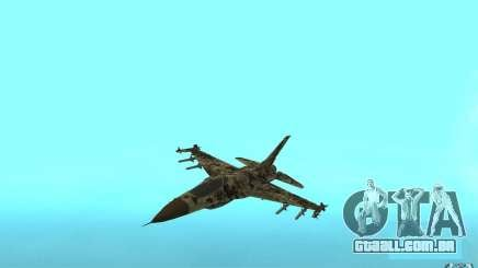 F16C Fighting Falcon para GTA San Andreas