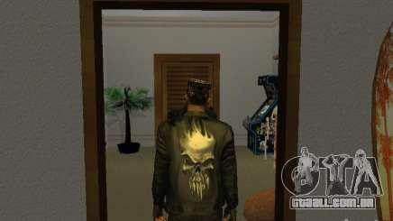 Jaqueta de crânio para GTA San Andreas