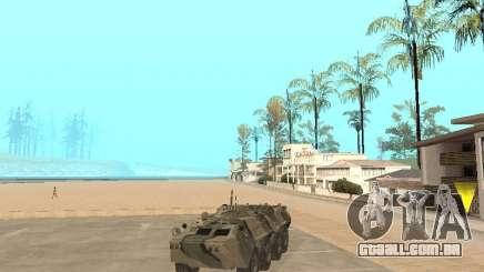 BTR 80 para GTA San Andreas