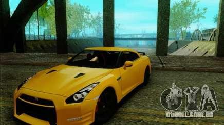 Nissan GTR Egoist 2011 para GTA San Andreas