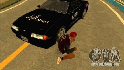 Vinil de metal Drift para GTA San Andreas