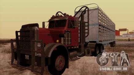 Peterbilt 359 Day Cab para GTA San Andreas