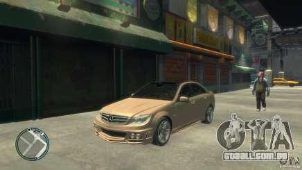 Mercedes-Benz C63 para GTA 4
