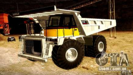 Caterpillar 777D para GTA San Andreas