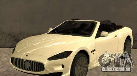 Maserati GranCabrio 2011 para GTA San Andreas