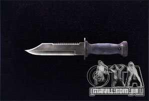 [Point Blank] Knife para GTA San Andreas