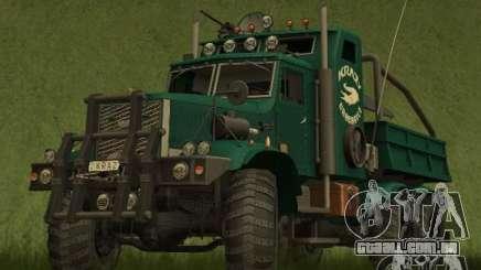 KrAZy Crocodile para GTA San Andreas