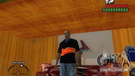 A t-shirt MIZ para GTA San Andreas