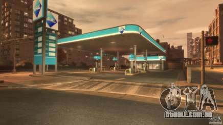 Aral Tankstelle para GTA 4