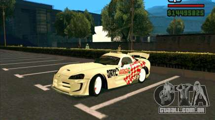 Dodge Viper SRT-10 Coupe para GTA San Andreas