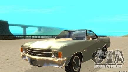 Chevrolet El Camino 1972 para GTA San Andreas