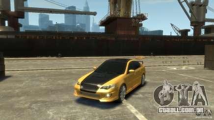 SUBARU Legacy B4 tuning para GTA 4
