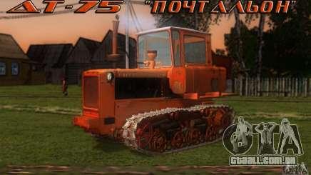 Tractor DT-75 carteiro para GTA San Andreas