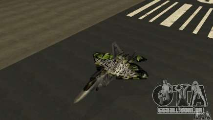 F-22 Raptor Graffity Skin 2 para GTA San Andreas