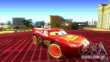 MCQUEEN from Cars para GTA San Andreas