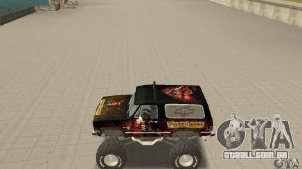 Chevrolet Blazer K5 Monster Skin 4 para GTA San Andreas