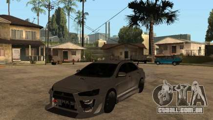 Mitsubishi Lancer Evolution X Drift Spec para GTA San Andreas