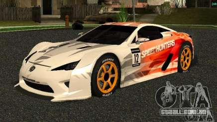 Lexus LFA Speedhunters Edition para GTA San Andreas
