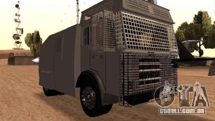 Um canhão de água polícia Rosenbauer v2 para GTA San Andreas