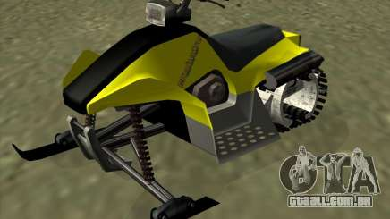 Snowmobile para GTA San Andreas
