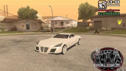 Maybach Exelero para GTA San Andreas
