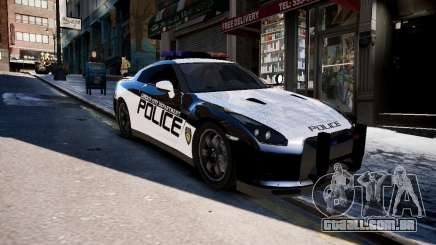 Nissan Spec GT-R Enforcer para GTA 4