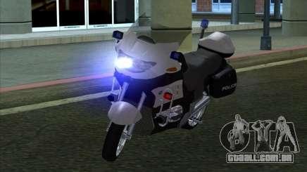BMW R1150RT Cop copbike para GTA San Andreas