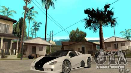 SSC Ultimate Aero FM3 version para GTA San Andreas
